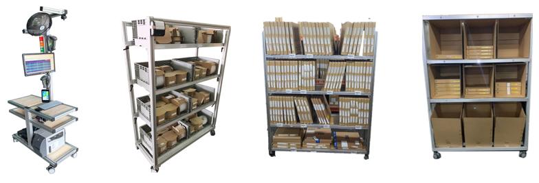 客製化小量多樣撿貨設備